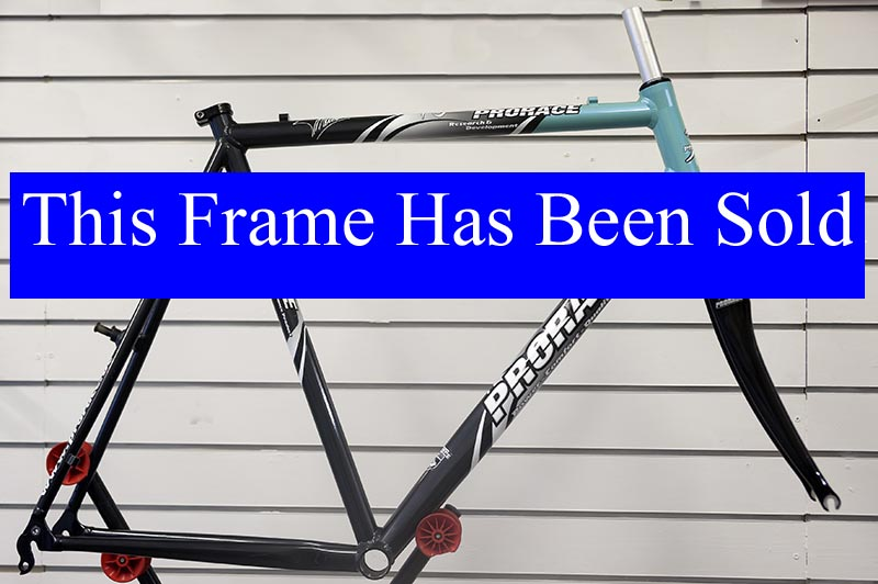 PRORACE Cyclocross, frame and fork only