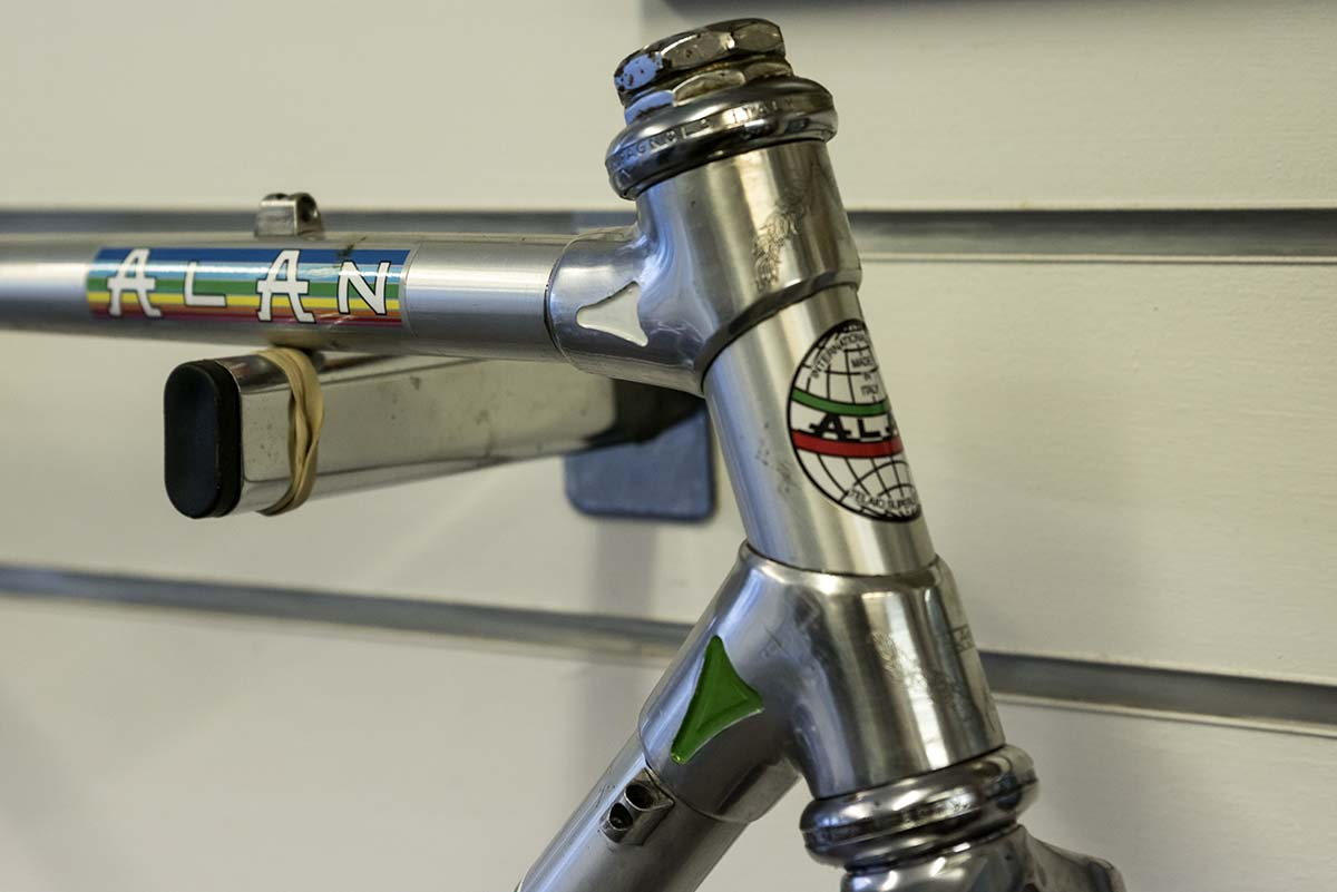 A 1980's original Alan Cyclocross, frame and fork only